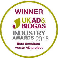 Winner UK AD Biogas